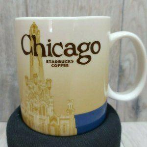 Starbucks Coffee Cup Mug Chicago Illinois16 oz